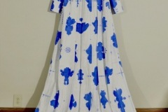 Delftware Inkblot Coat by Gabrielle Mayer